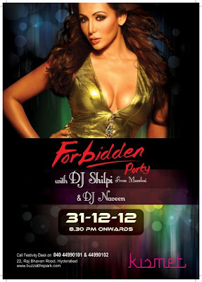 New year eve Forbidden Party at Kismet