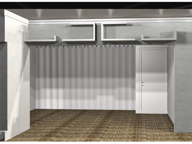 Nicho De Gesso Para Sala De Jantar ~ nichos viga sala de jantar cortineiro sala de jantar prancha em