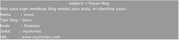 Blogger Design3 Jasa Pembuatan Blog Murah Terpercaya
