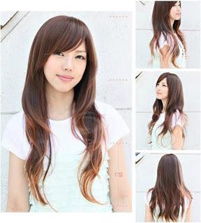 Style Rambut Shaggy Panjang Perempuan Terkini Style Rambut Terkini - Gaya rambut pendek budak perempuan