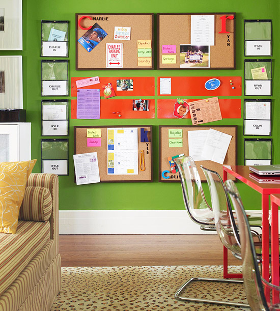 modern furniture back to school organizing tips 2013 ideas