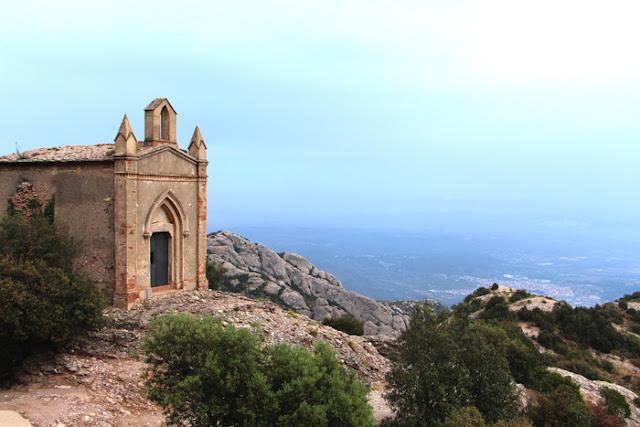 Kapelle auf dem Sant Joan