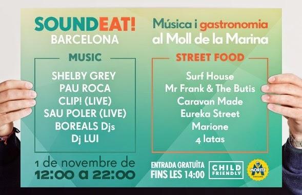 Primer Festival Gastronómico de Música Electrónica en Barcelona