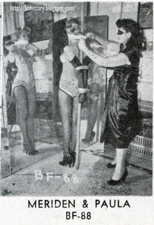 Irving Klaw Bondage Series BF-1 with Lois Meriden and Paula Klaw