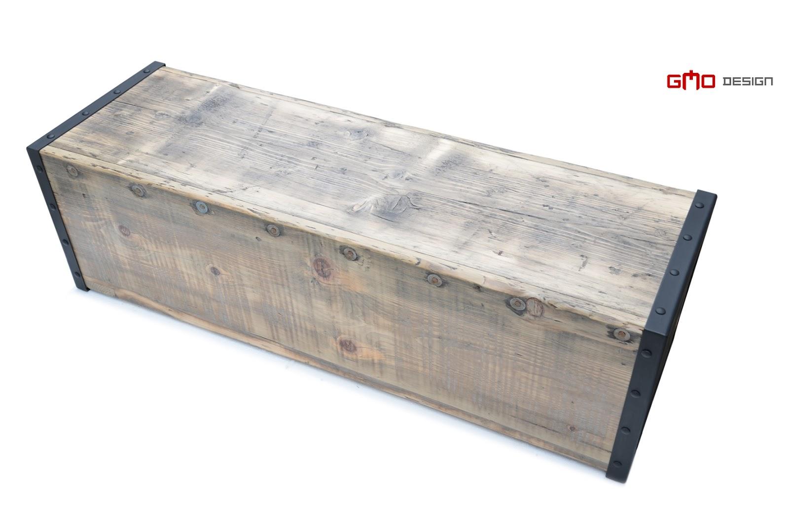 meble z łódek flisackich, meble ze starego drewna, GMO Design