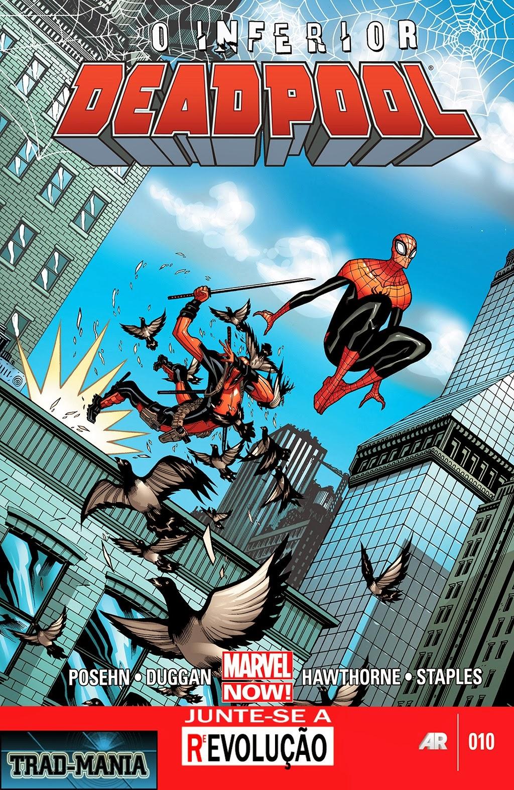 Nova Marvel! Deadpool v5 #10