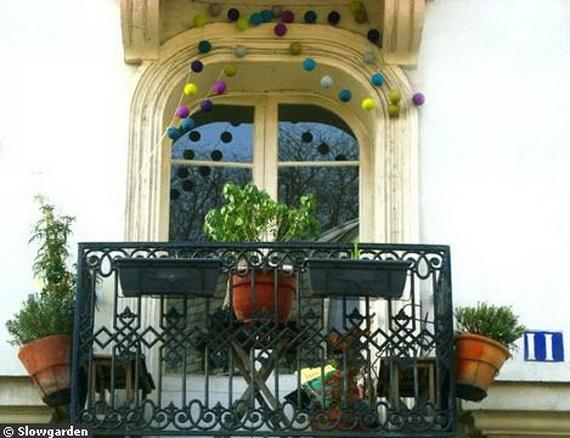 DECO CHAMBRE INTERIEUR: Idées de décor pour les petits Balcons