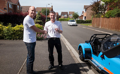 Fifty-two weeks ago, Dean Francis delivered my road legal Caterham R500