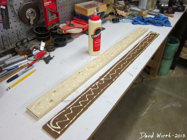 glue melamine, sliding, woodworking, miter saw stand