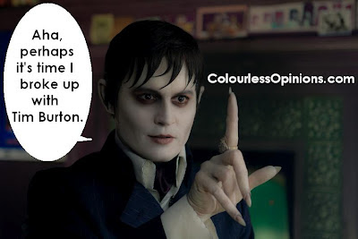 Dark Shadows Johnny Depp Barnabas Collins
