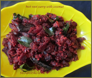 beet root curry