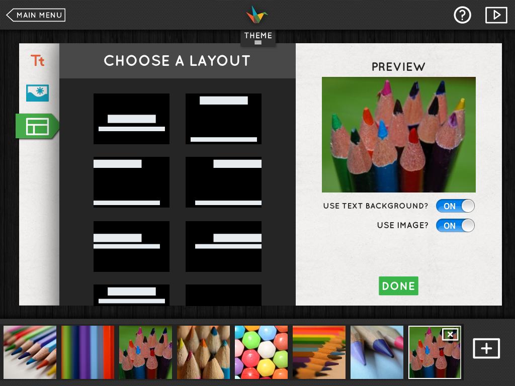 Photo presentation apps for ipad