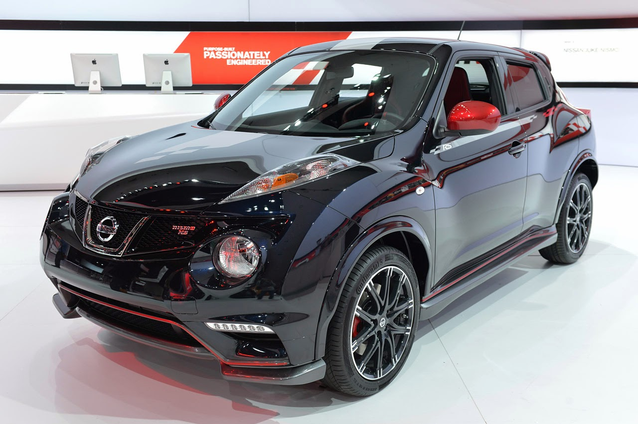 automotiveblogz 2014 nissan juke nismo rs la 2013 photos. Black Bedroom Furniture Sets. Home Design Ideas