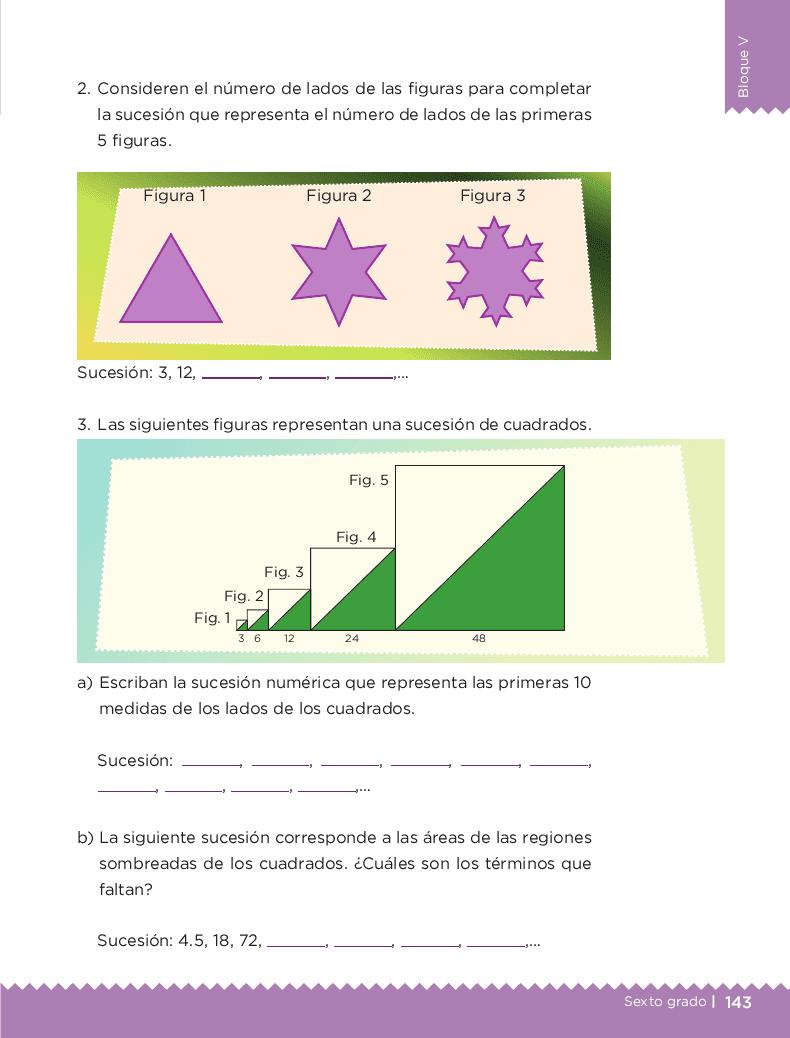 Incrementos rápidos - Desafíos matemáticos 6to Bloque 5to 2014-2015