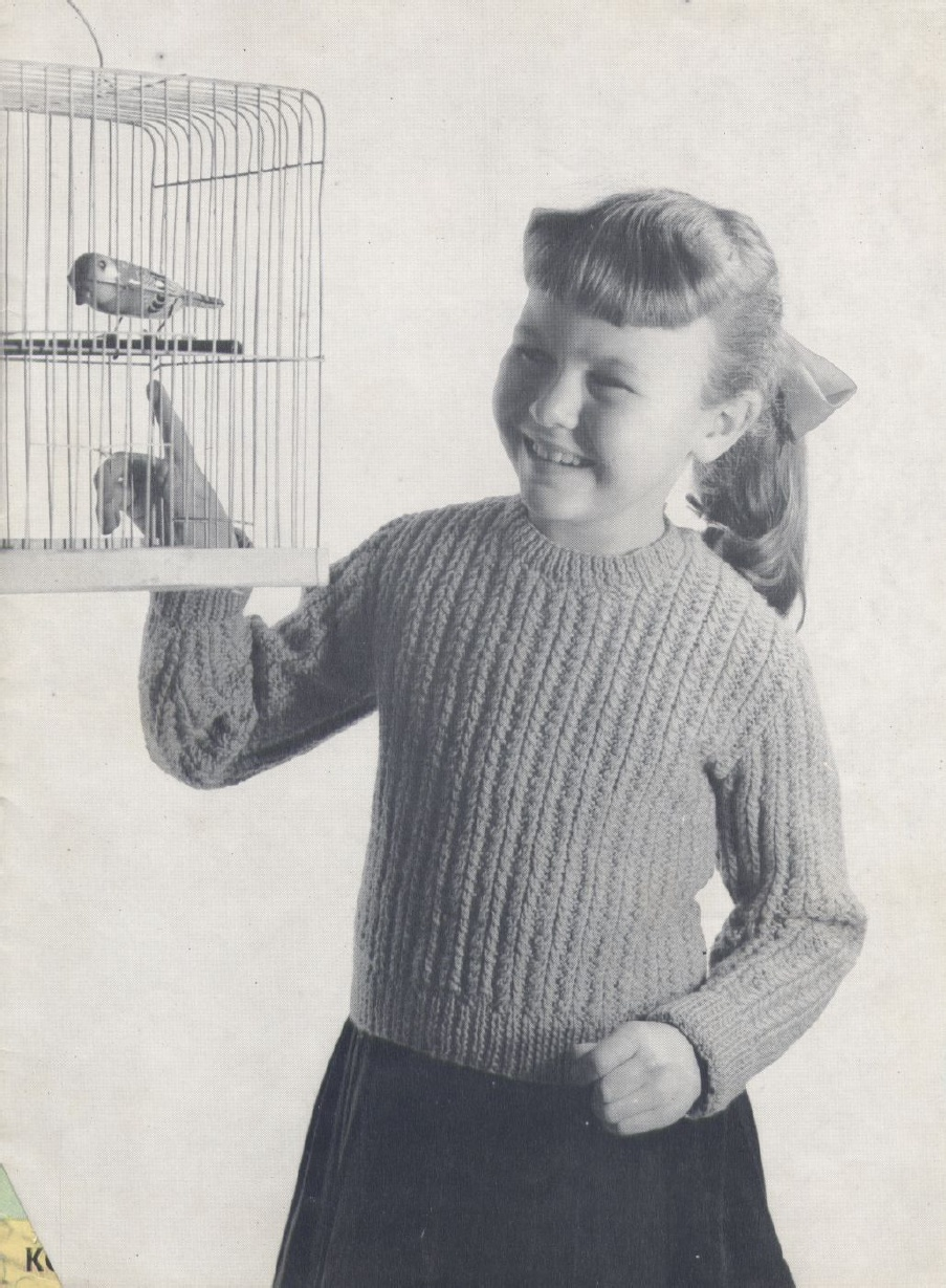 Vintage Knitting Pattern Library : The Vintage Pattern Files: 1950s Knitting - Hughes ...
