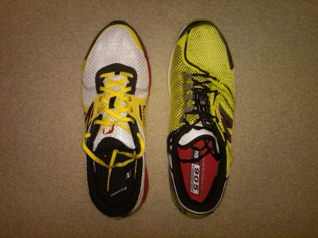 New Balance 1190 Review and Comparison to New Balance 905 ...