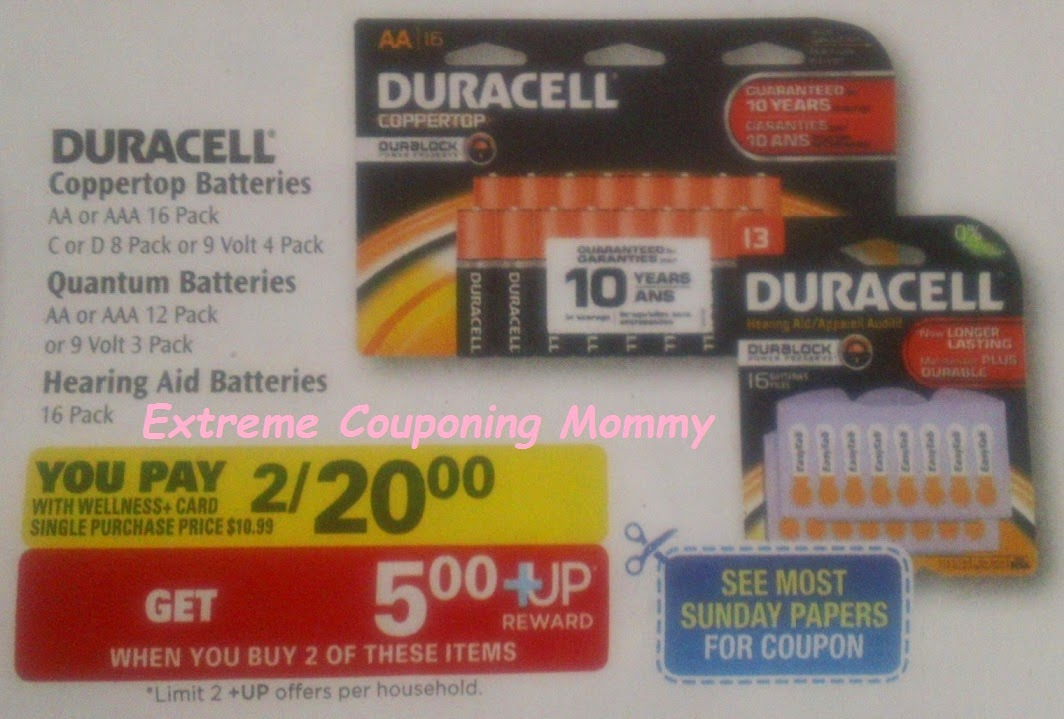 Duracell coupons