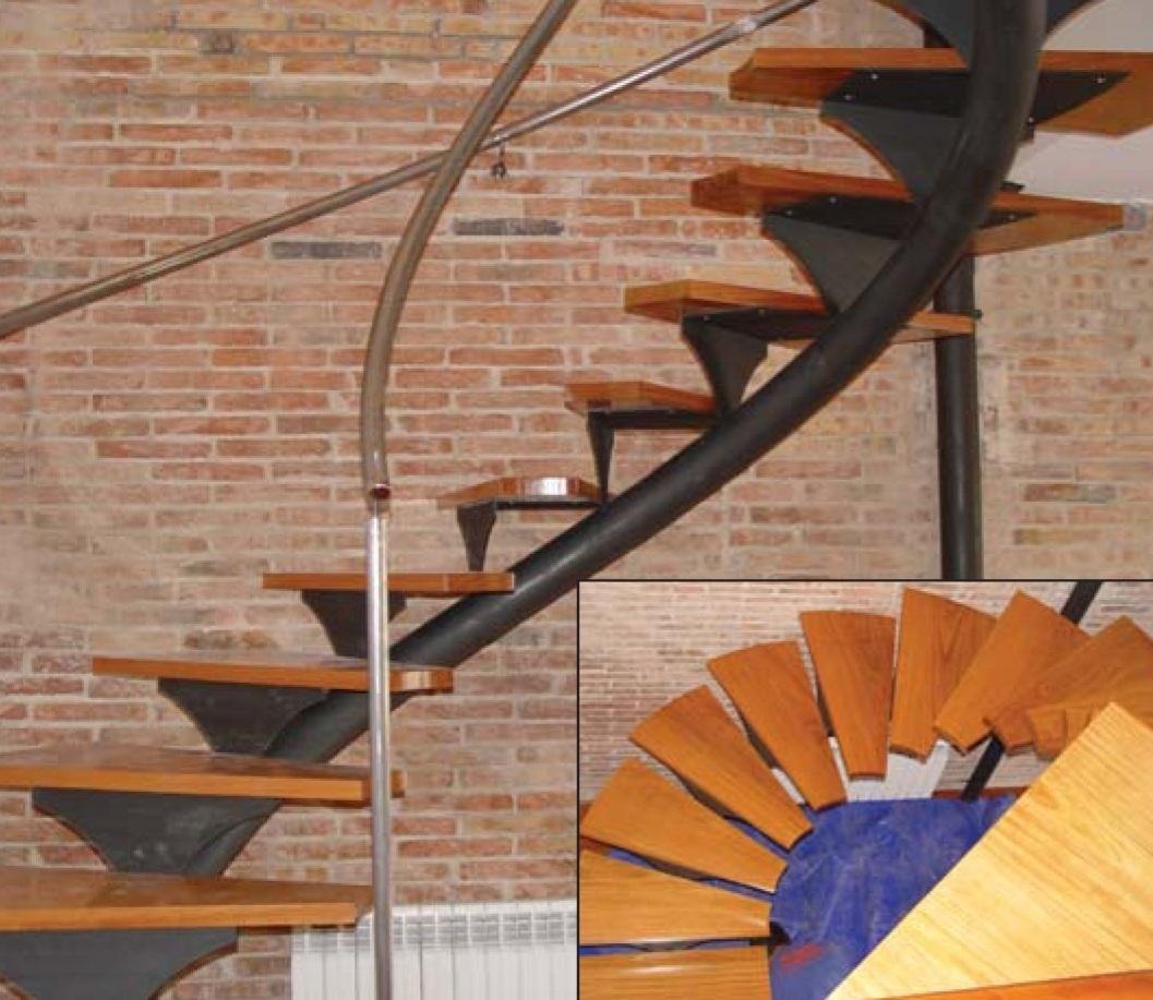 Cerrajeria sotelo y automatismos escaleras metalicas - Escaleras metalicas interiores ...