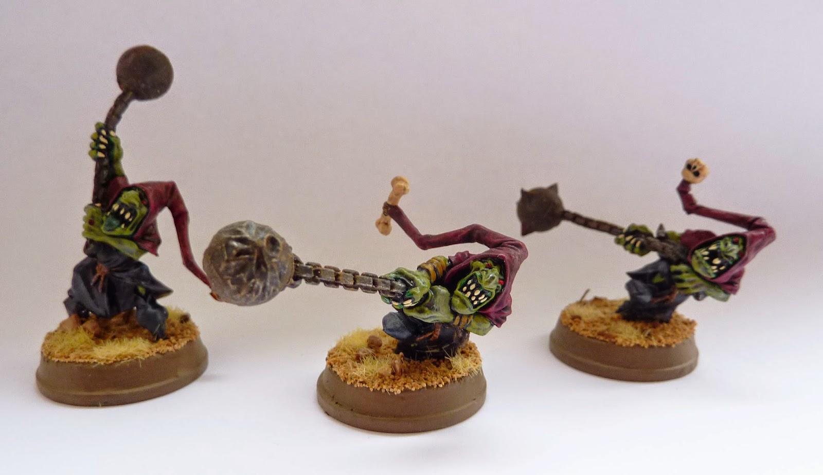 Night Goblin fanatics from Warhammer Fantasy Battle.