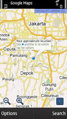 Google Maps Nokia S60v3 S60v5