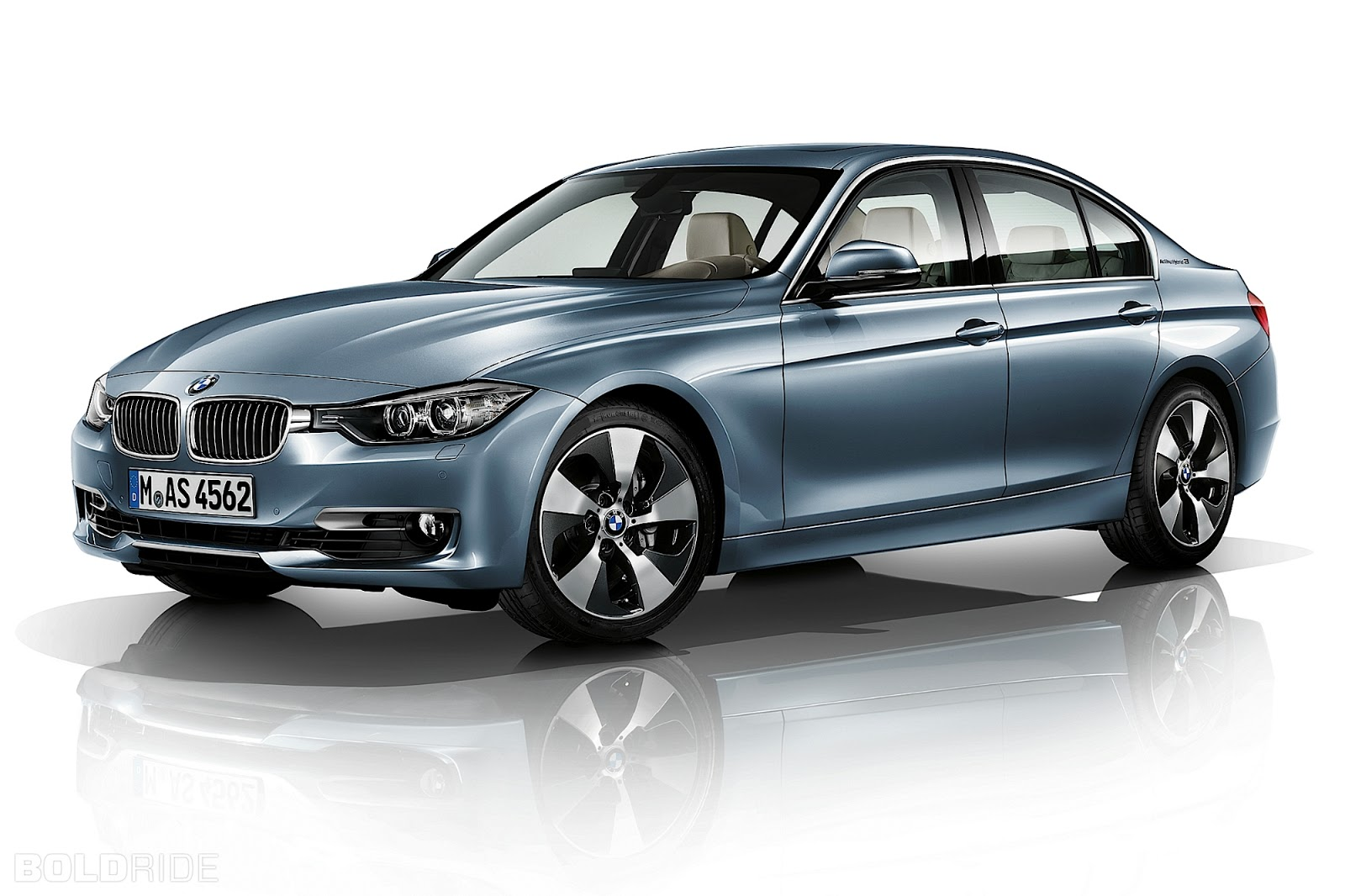 2012 bmw 3 series activehybrid front view
