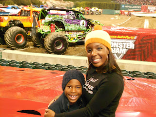 Monster+Jam Monster Jam Review-Angel Stadium