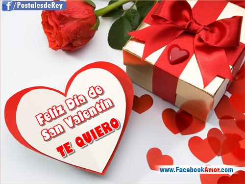 Tarjetas para el dia de san valentin im genes bonitas - Postales dia de san valentin ...
