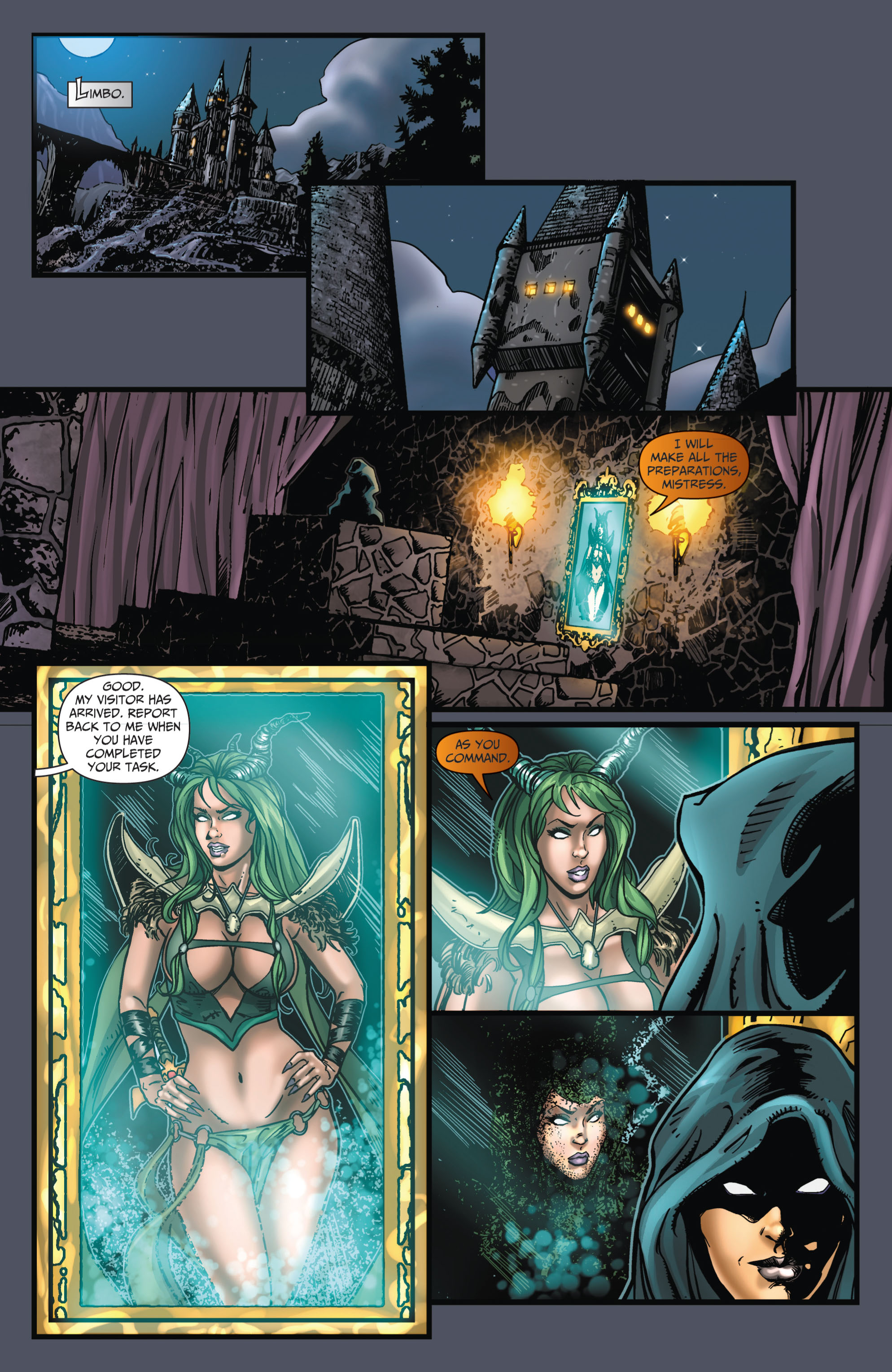 Grimm Fairy Tales (2005) Issue #66 #69 - English 9