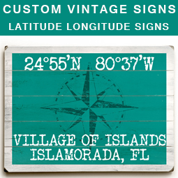 Nautical Latitude Longitude Signs