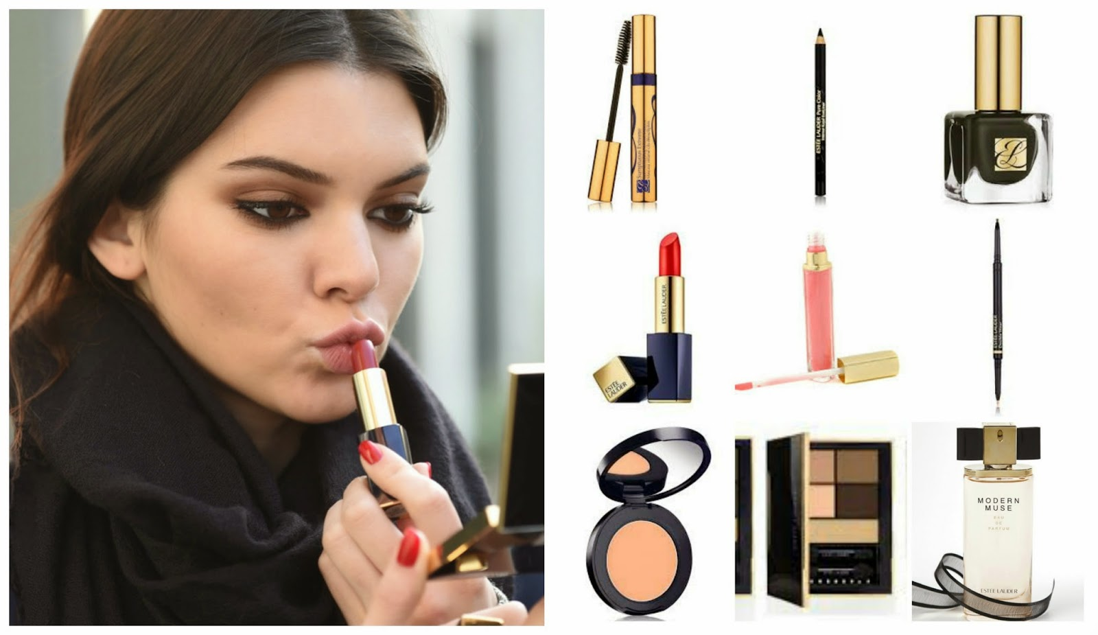 Kendall Jenner's Estee Lauder Beauty Favourites