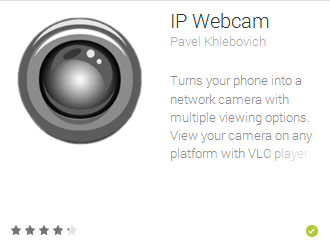 Ip webcam for Android
