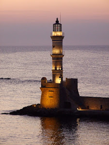LIGHTHOUSE: 'CHANIA' GREECE