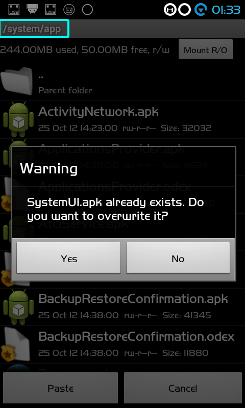 MODIF ANDROID CROSS A7* / A7 STAR ICS ( SystemUi.apk )