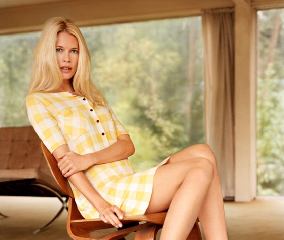 photos claudia schiffer collection