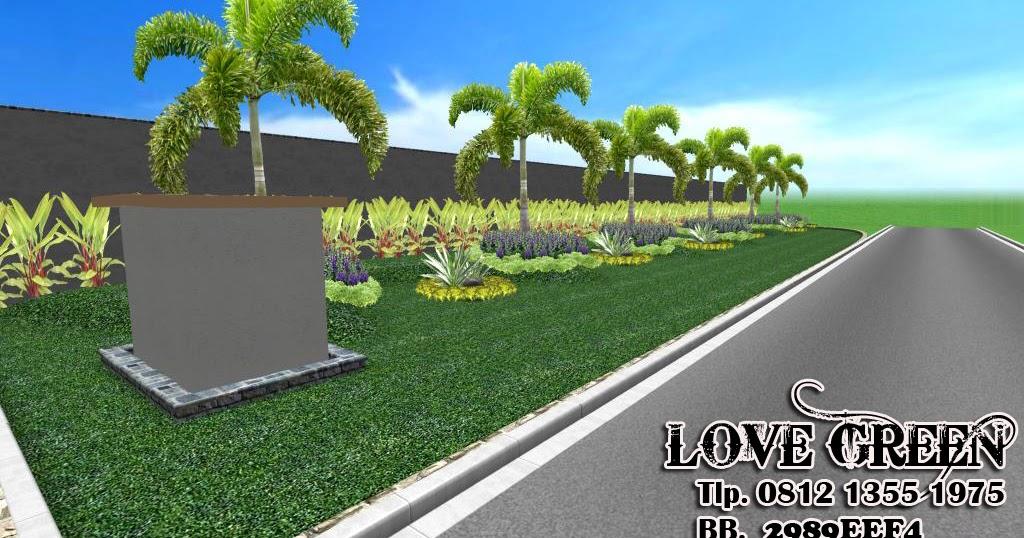 taman halaman minimalis taman perumahan
