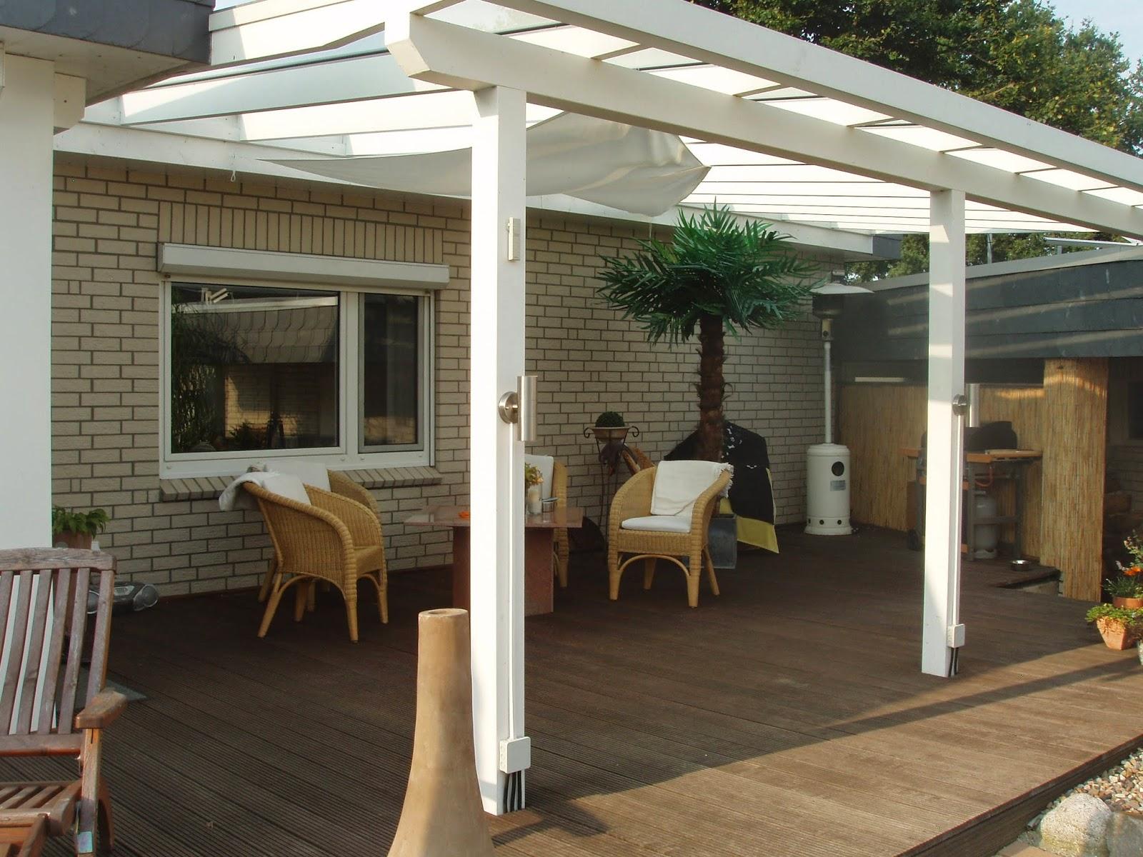 Windschutz Für Terrassenüberdachung : Terrassen u00fcberdachungen mit Glasdach W u00e4rmed u00e4mmung