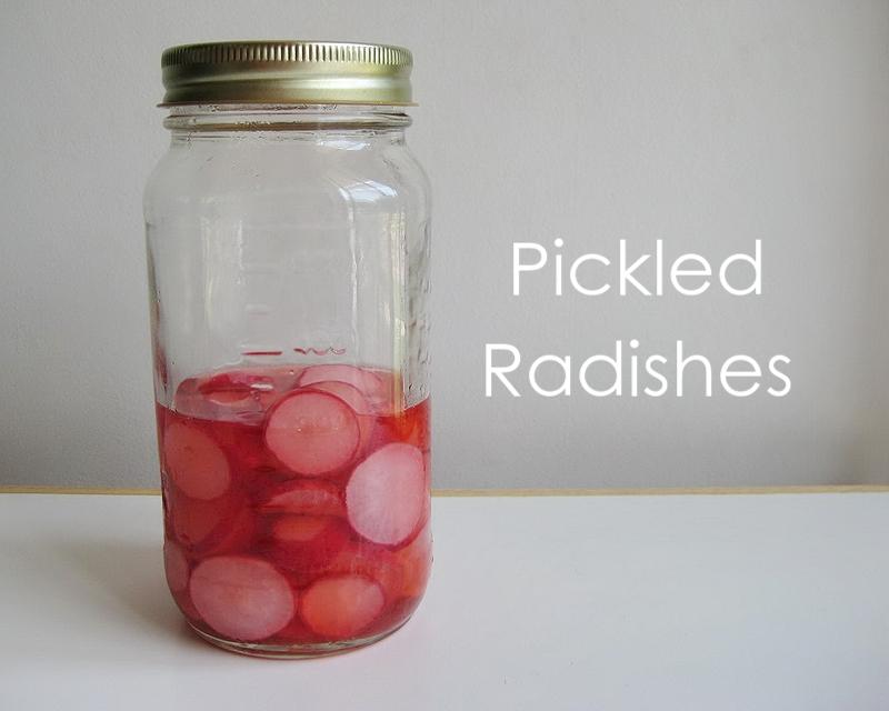 My Handmade Home: Recipe: Pickled Radishes