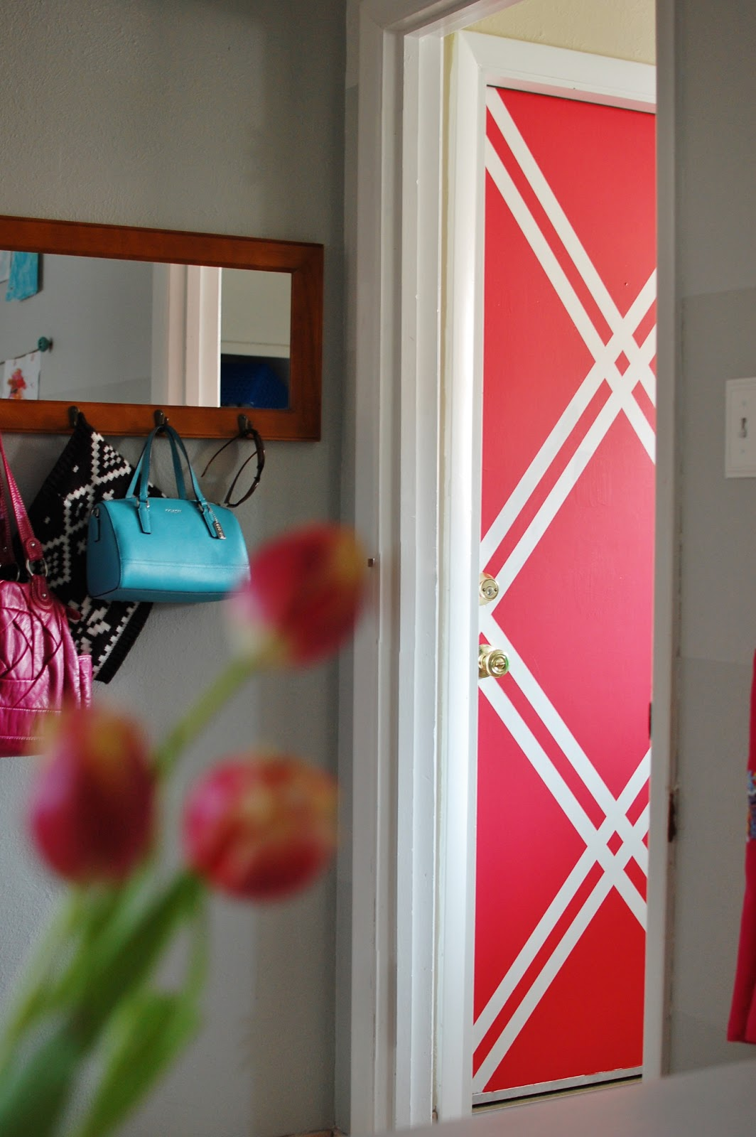 Easy Wall Designs With Tape Viewing Gallery