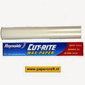 Wax papier