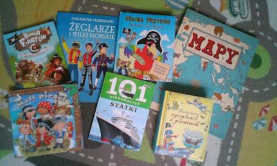 książki dla pirata