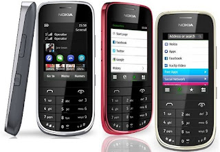 Nokia Asha 202 Touch and Type Mobile with Dual SIM