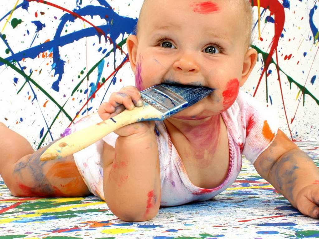 Baby Name Painting Ideas