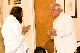 Meeting with Sri Sri Ravi Shankar