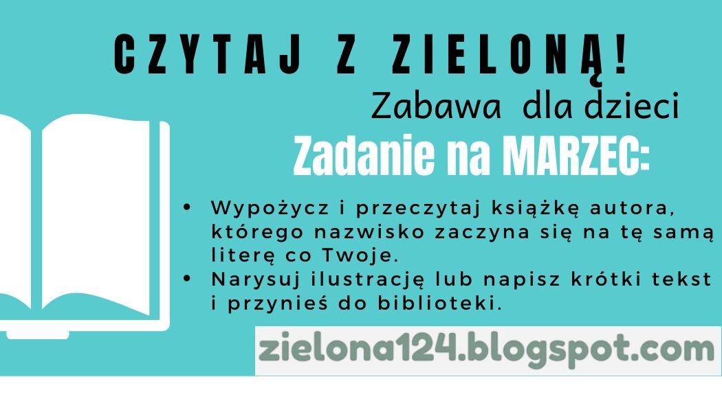 Czytaj z Zieloną MARZEC