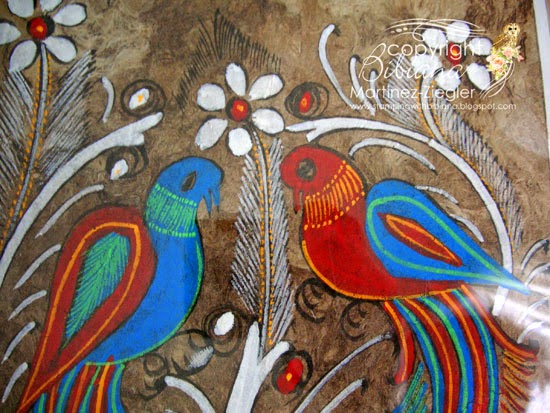 amate paper detail