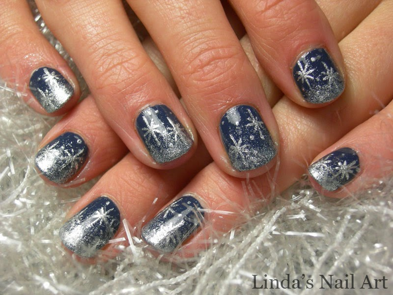 Lush fab glam blogazine style me pretty winter snowflakes nail art read on to see them all and for tips on the nail colors and nail art tools that you can use to do it yourself prinsesfo Choice Image