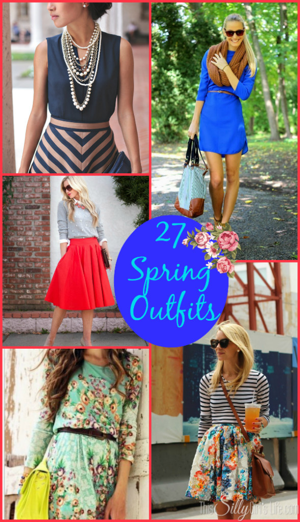 27 Spring Outfits {The Weekly Round UP}