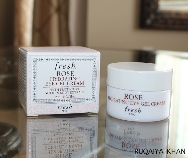 FRESH Rose Hydrating Eye Gel Cream Review