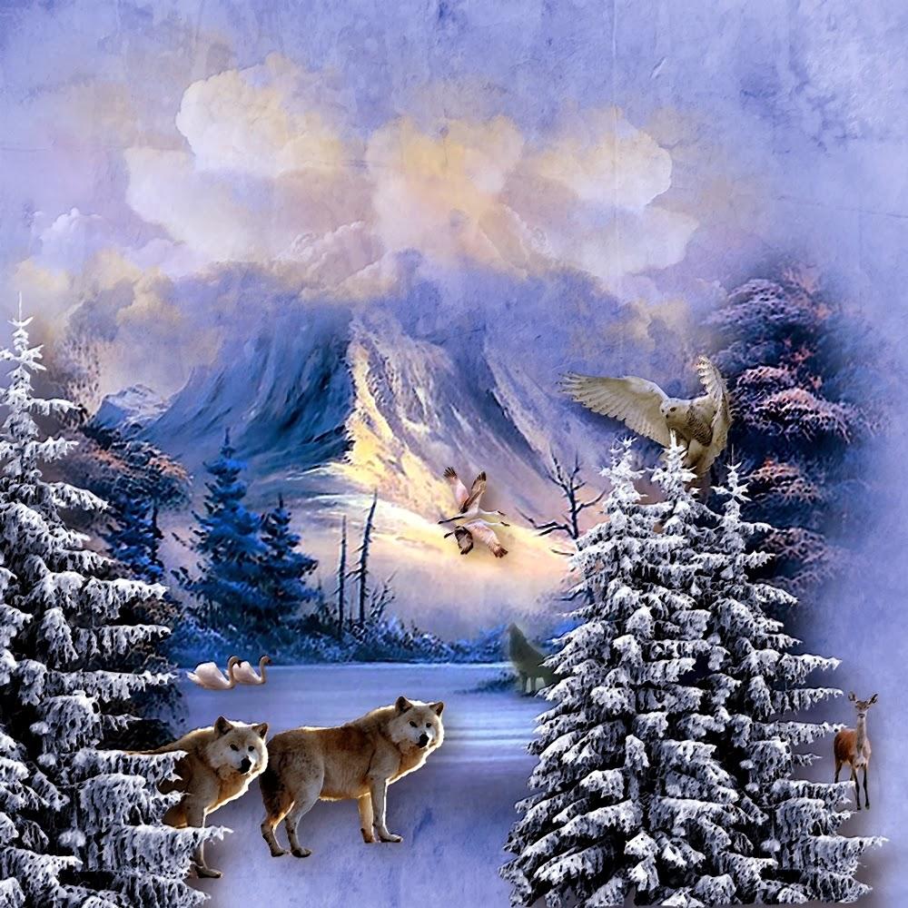 http://www.scrapbookflair.com/Pelle/Winter_Scene