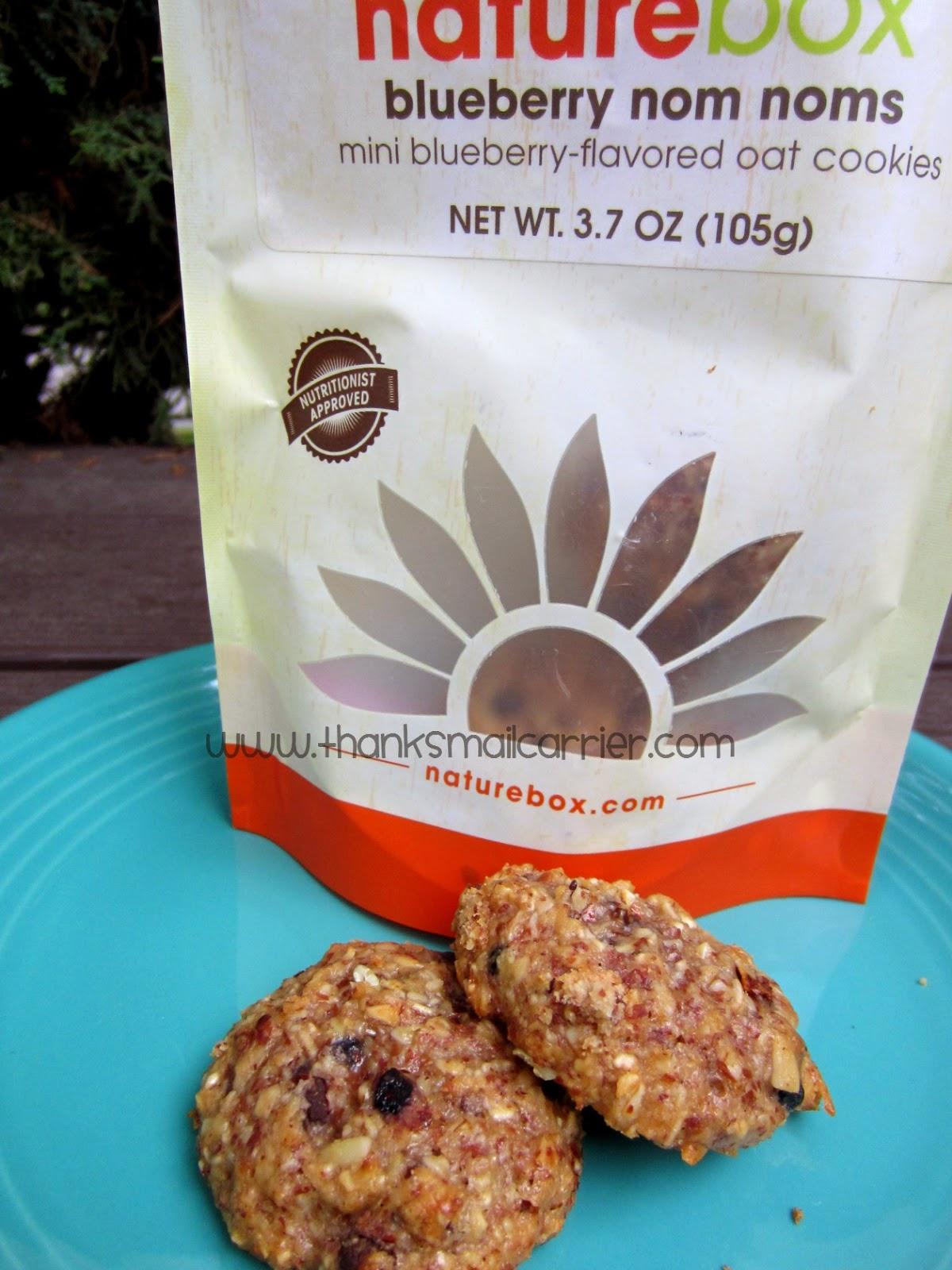 NatureBox oatmeal nom noms